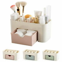 Makeup Cosmetic Storage Box Organizer Holder Stationery Drawer Toiletry Desktop