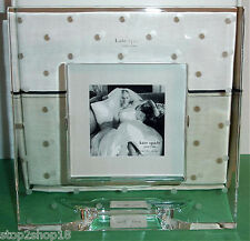 "Kate Spade Larabee Dot Crystal Square Frame Fits 3x3"" Photo NEW Rare!"