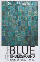 Rear Window Quilt Pattern, Blue Underground Studios, DIY Quilting Sewing