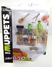 DISNEY SELECT The Muppets - Kermit , Bean & Robin Actionfigur DIAMOND SELECT (L)