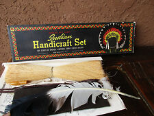 Boy Scout Indian Handicraft Set Vintage