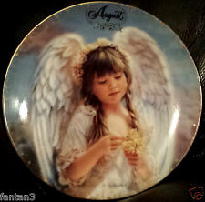 Always With You Calendar - August Simplicity of Love - Plate 8 Sandra Kuck Angel