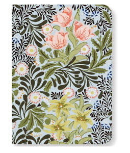 V&A Museum Mini Notebook - 'Bower' by William Morris - A6 - Free P&P - BRAND NEW