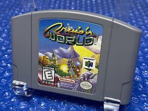 Cruis'n World -- Authentic Original Nintendo 64 N64 Game - Retro Arcade Cruisin