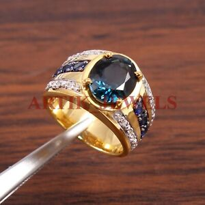 925 Sterling Silver Solitaire Diamond Wedding Ring Jewelry Free Shipping AJ317