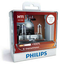 Philips 12362XVSM - X-treme Vision +100 H11 Globe 12V 55W (2Pk)
