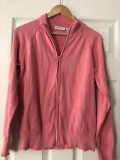 Orvis Pink Women's Medium Sweatshirt Zip Up