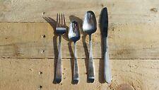 Vintage Scandinavian Airlines SAS cutlery set 4 pieces silver plate aeronautica
