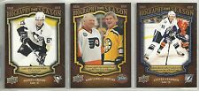 2009-10 Upper Deck Biography of a Season 30-card Hockey Set    Crosby   Stamkos