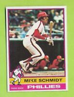1976 Topps - Mike Schmidt (#480)  Philadelphia Phillies
