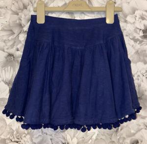 Girls Age 8 (7-8 Years) Skirt From Matalan- Navy Blue