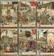 Chromo Liebig Sang. 859 ITA Palazzi Municipali Celebri d'Italia ANNO 1906