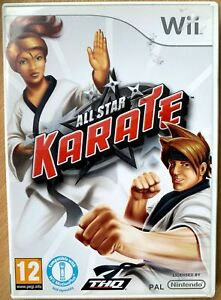 All Star Karate Nintendo Wii Martial Arts Fighting Videogame Game