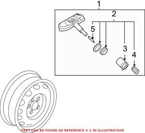 Genuine OEM Tire Pressure Monitoring System Sensor for Volkswagen 1K0907253D