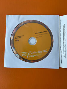 Microsoft Office 2010 Home and Student Word Excel PowerPoint OneNote For Windows