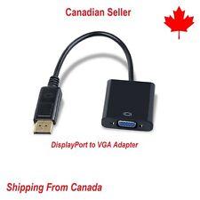 DisplayPort DP male to VGA female câble 1080P Adaptateur Adapter Converter DPVG
