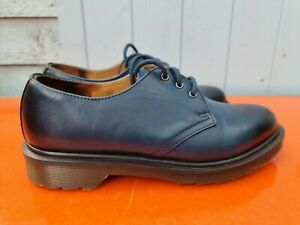Dr Martens 1461 Shoes Uk 6 Eur 39 AW501 KV10R Fade Out Blue Black