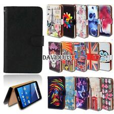 Leather Smart Stand Wallet Case Cover For Various BLU Vivo SmartPhones