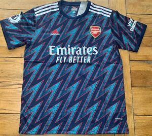 Arsenal Third 3rd Shirt 21-22 Size Large BNWT