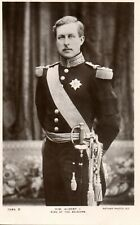 H.M ALBERT I - KING OF THE BELGIANS c1905 ROYALTY RP POSTCARD