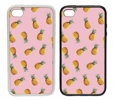 Pineapple Designs - Rubber and Plastic Phone Cover Case