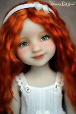 Grace doll OOAK Ruby Red Fashion Friends Sara custom doll, vinyl, 9 joints,36cm