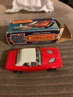 Matchbox Superfast #1 Red Dodge Challenger,in Original Box