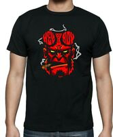 Unisex and Ladies fitted HELL BOY FACE T-shirt .. Up to 5XLarge