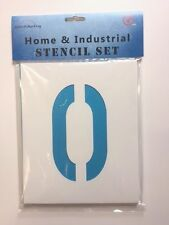 "1""-39"" (25mm to 1000mm) Stencils 0-9 Number Set"