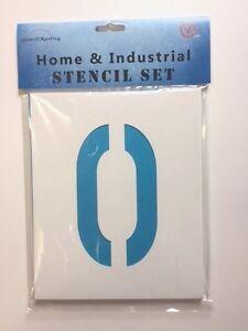 "1""-39"" (25mm to 1000mm) Stencils 0-9 Number Set"