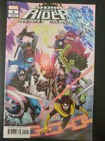 ⭐️ Cosmic GHOST RIDER Destroys Marvel #5b (2019 MARVEL Comics) VF/NM Book