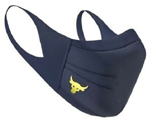 Under Armour Adult Project Rock Sport Face Mask NAVY ALL SIZES Fast Shipping NEW