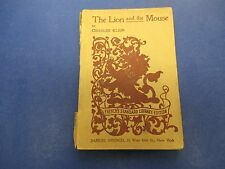 The Lion And The Mouse Play Book By Charles Klein Samuel French, 4 Acts S285