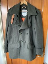 Superdry Greystone Pea/Trench Coat Size XL