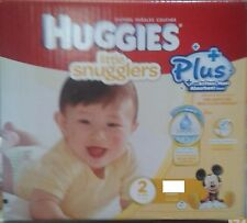 Huggies  LIttle snugglers  Nappies SIZE 2  - 116 Pack