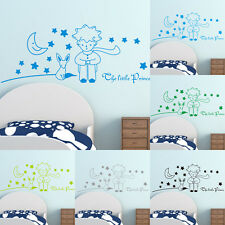 Quote Little Prince Wall Sticker Home Decor Kids Room DIY Wall Decal Removable