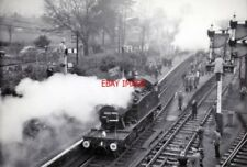 PHOTO  GWR LOCO NO 4593 AT YEOVIL PEN MILL 'QUANTOCK FLYER' TOUR 16-2-1964