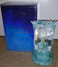 2020 Disney Frozen Broadway Musical Elsa Let it Go Snowglobe Limited Edition