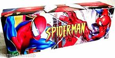 Spiderman Gift Box Pencil Cryon Toy Storage Box Bin Hard Cover 7.25x2.5x1.75