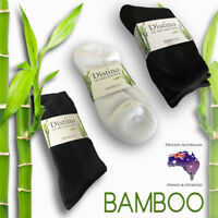 Mens Bamboo Socks - Men's Black Bamboo Dress, Work or White Ankle Sock