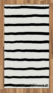 Contemporary Form Area Rug Flat Woven Accent Rug Home Decoration 2 Sizes