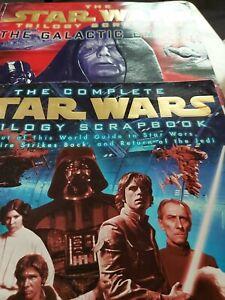 Vintage starwars scrap book s