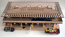 HO Laser-cut Pit Garage Complex