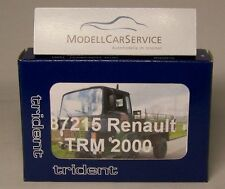 Trident 1/87: 87215 Renault de mat 2000 (4x4) plus facilement Camion-Resin-Kit
