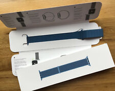 Genuine Apple Watch Nylon CAPE COD BLUE sport loop Strap 44mm / 42mm