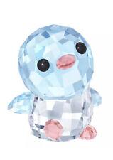 New In Box Authentic Swarovski Scs Crystal Papa Penguin Figurine #5301616