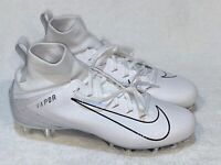 NIKE Vapor Untouchable 3 Pro White TD Molded Football Cleats Mens 9.5 10.5 12 13
