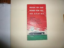 Wolf's Head Motor Oil Rules of the Road for all 48 States Booklet - Vintage