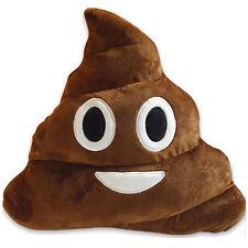 Smiley Poo Shaped Cushion Big Eyes Poop Pillow Prank Emoji Stuffed Halloween Toy