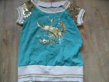 NOLITA POCKET élégant T-Shirt Avec Paillettes glamour taille 12 J nouveau rc517